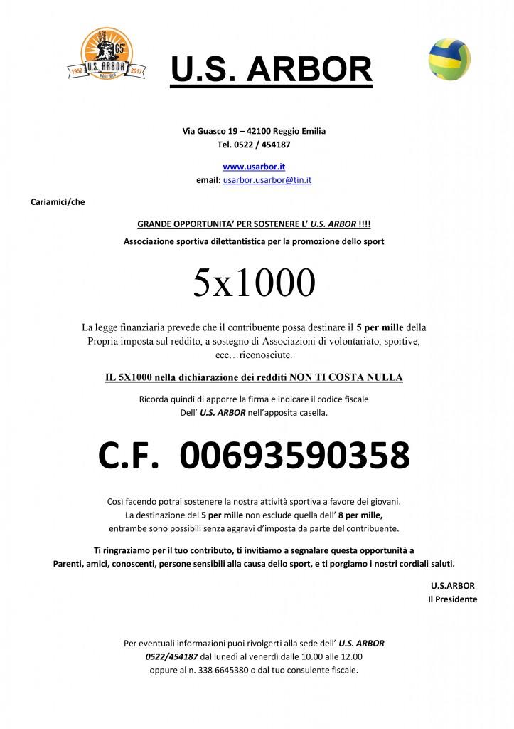 5xmille VOLANTINO2