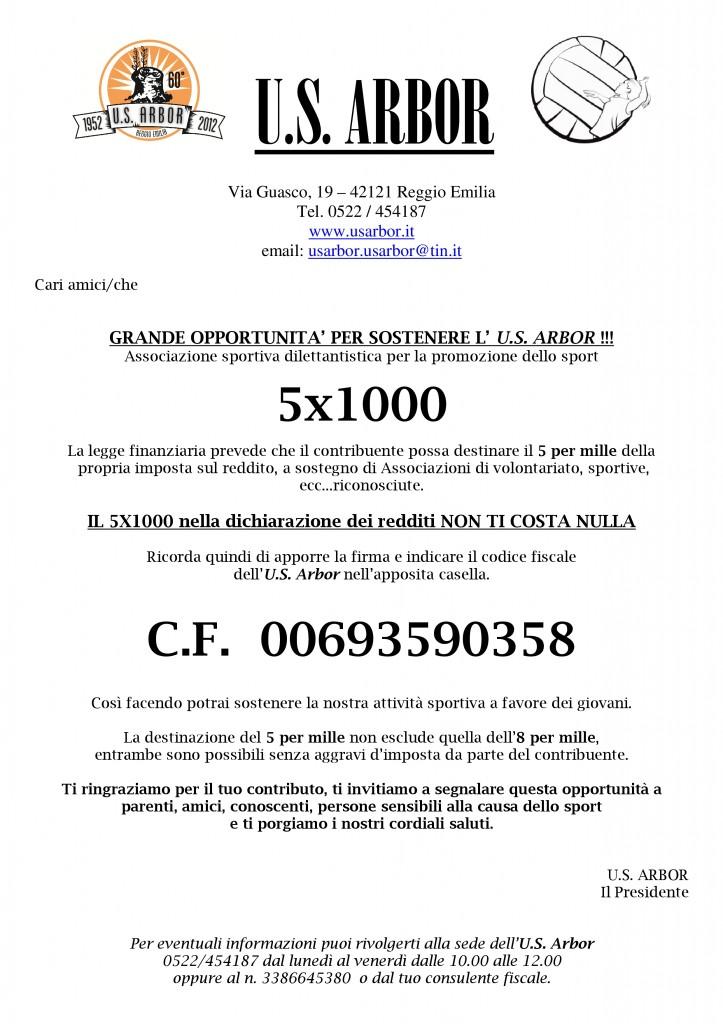 Volantino 5x1000 arbor-001